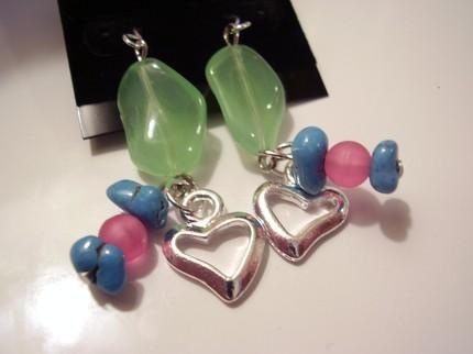 Autumn Heart Earrings