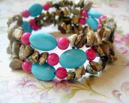 turquoise bangle wrap